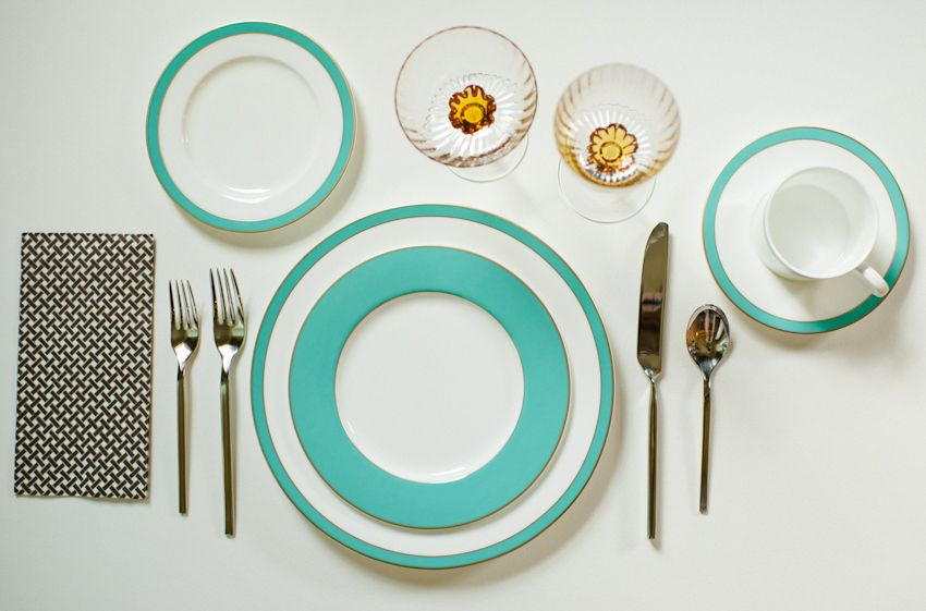 Modern Aqua Green China. Regent by Crate and Barrel. Spindle Photography. & Modern Aqua Green China. Regent by Crate and Barrel. Spindle ...