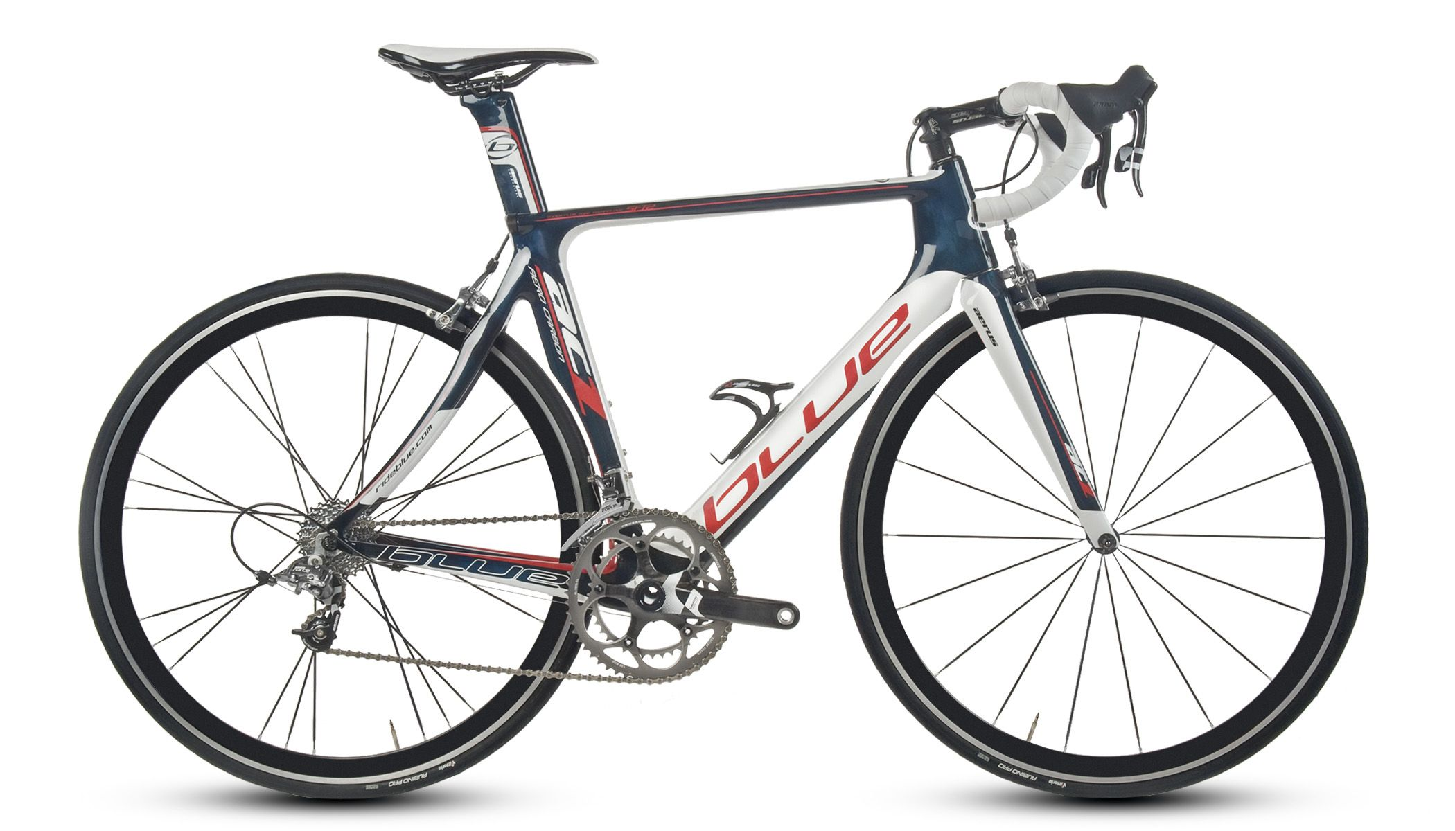 2014 Blue Aero Road Bike.  Builds/pricing information not yet published.  Sweet looking bike though.