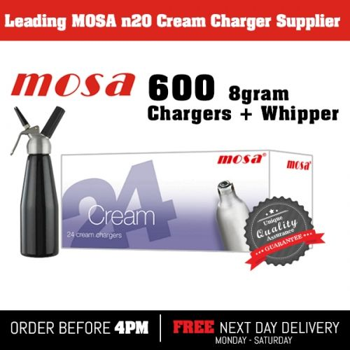 MOSA DISPENSERS MOSA CREAM CHARGERS N20 NOS WHIPPED CREAM CHARGERS