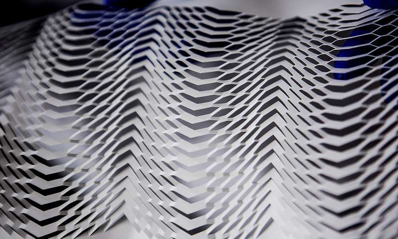 Kirigami art could enable stretchable plasma screens