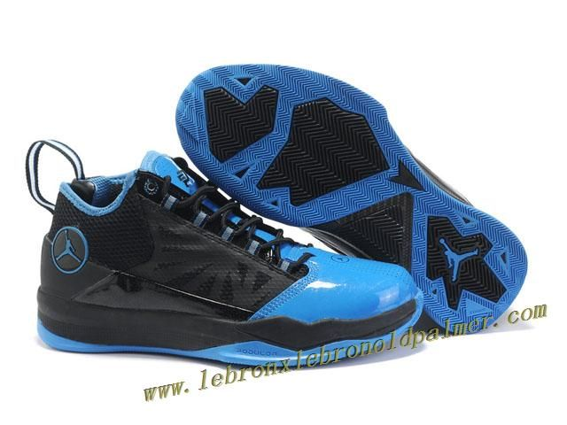 df599b529a45d5 Jordan CP3 IV Chris Paul Shoes Black Blue Hot
