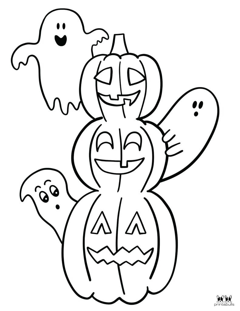 Printable Halloween Ghost Coloring Page Page 8 Halloween Coloring Sheets Coloring Pages Halloween Coloring