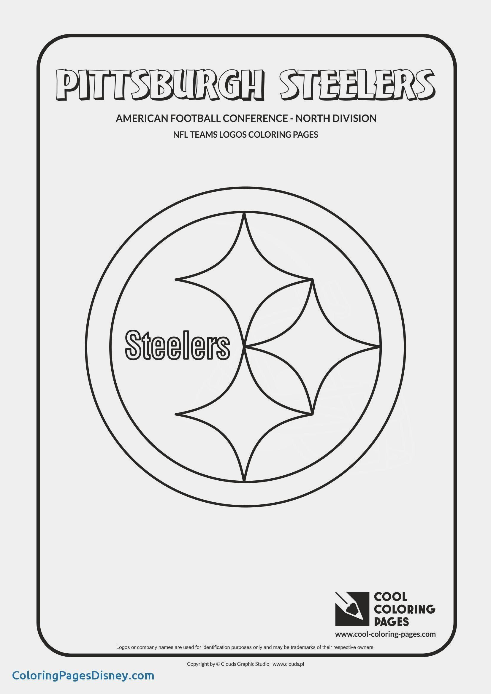 Football Player Coloring Pages Best Of New Nfl Logo Coloring Sheets Sirclaymelon In 2020 Nfl Teams Logos Football Coloring Pages Nfl Logo