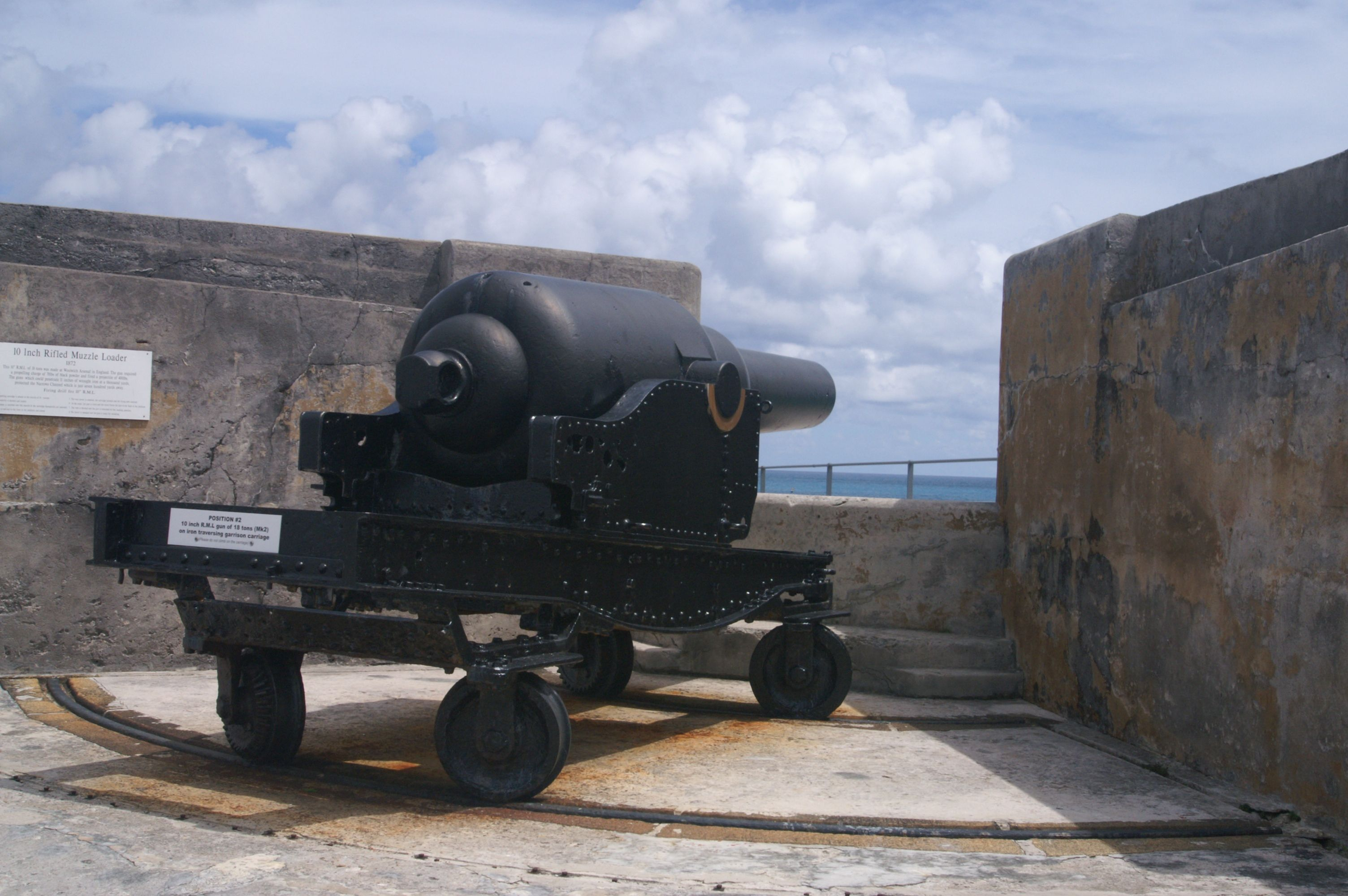 Shoot down pirates or see a replica of the British Crown Jewels at Fort St Catherine In St Georges, Bermuda .Pin provided by Elbow Beach Cycles http://www.elbowbeachcycles.com