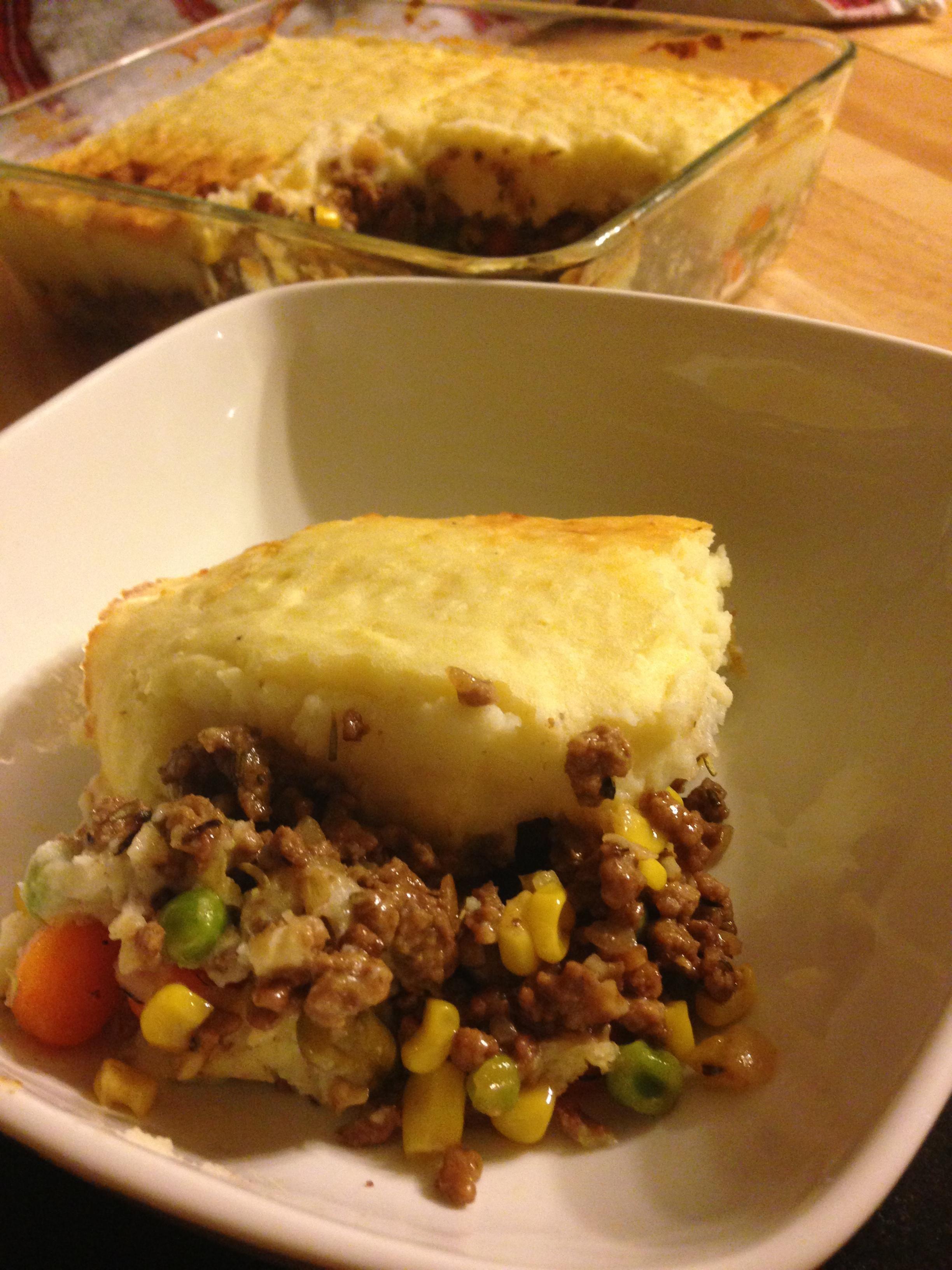 Shepherd S Pie Alton Brown Recipe Food Com Recipe Recipes Shepherds Pie Brown Recipe