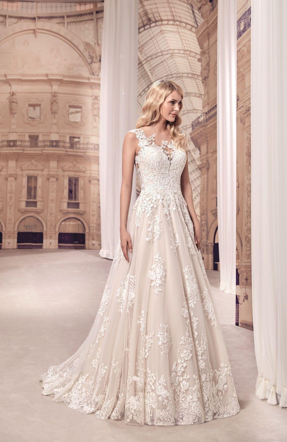 gefunden bei Happy Brautmoden Brautkleid elegant, elegantes