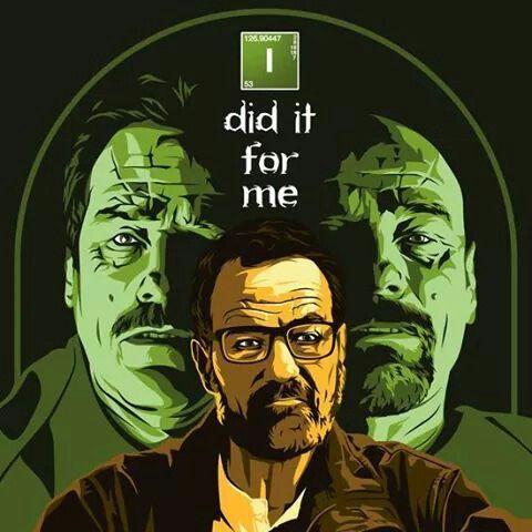 #BreakingBad #Series #Heisenberg #WalterWhite #IDidForMe