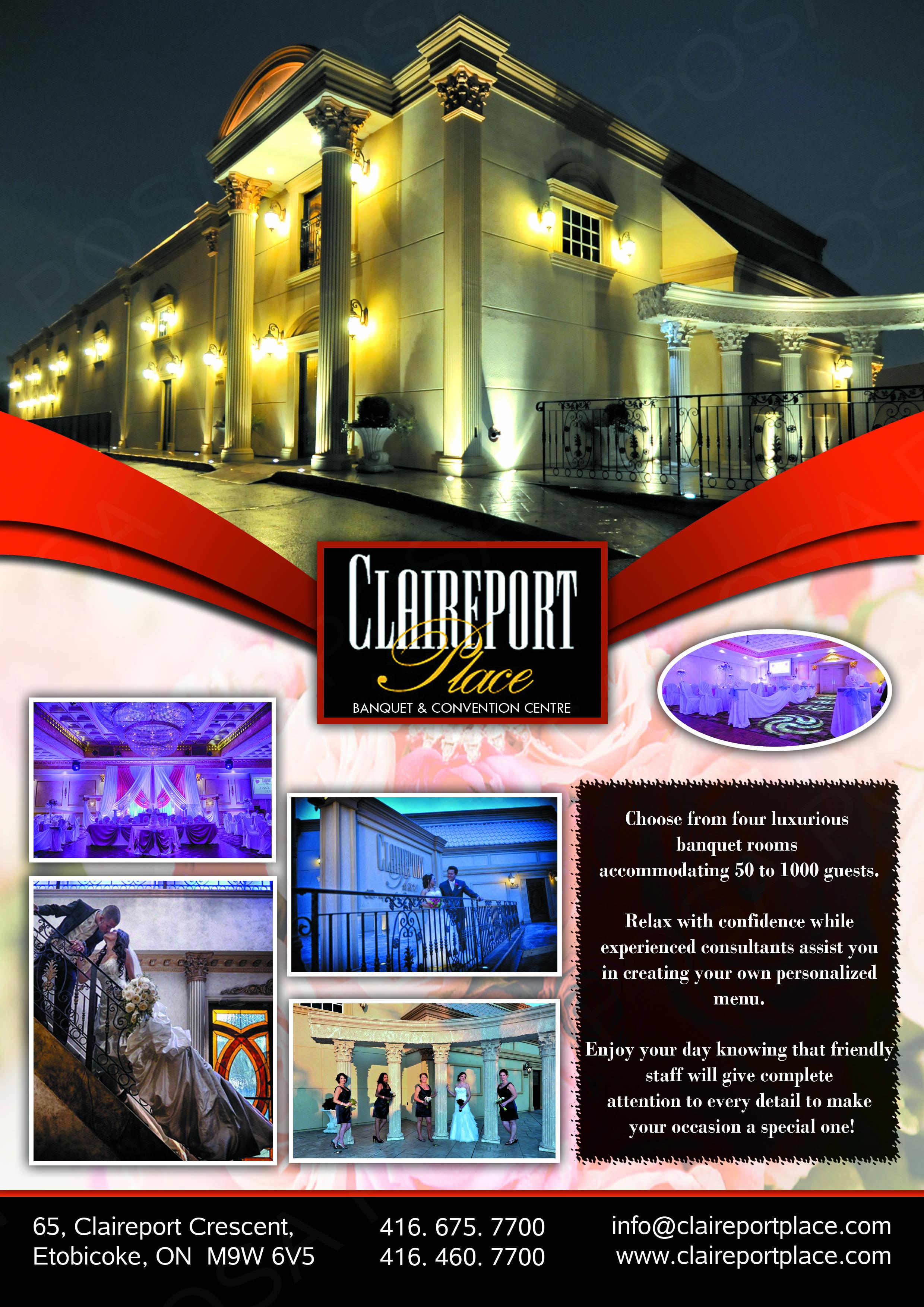 flyer design banquet hall graphicdesign lavigs toronto