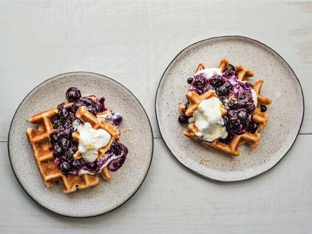 Get Waffles withBlueberry Compoteand Lemon Ricot…Edit description