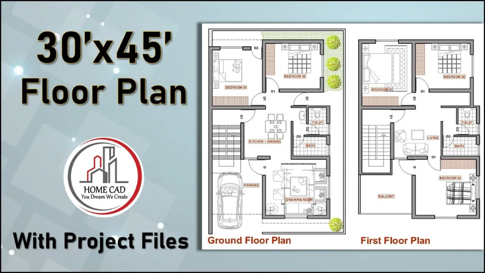 5 Marla House Map 30 45 Google Search House Map Ground Floor Plan Floor Plans
