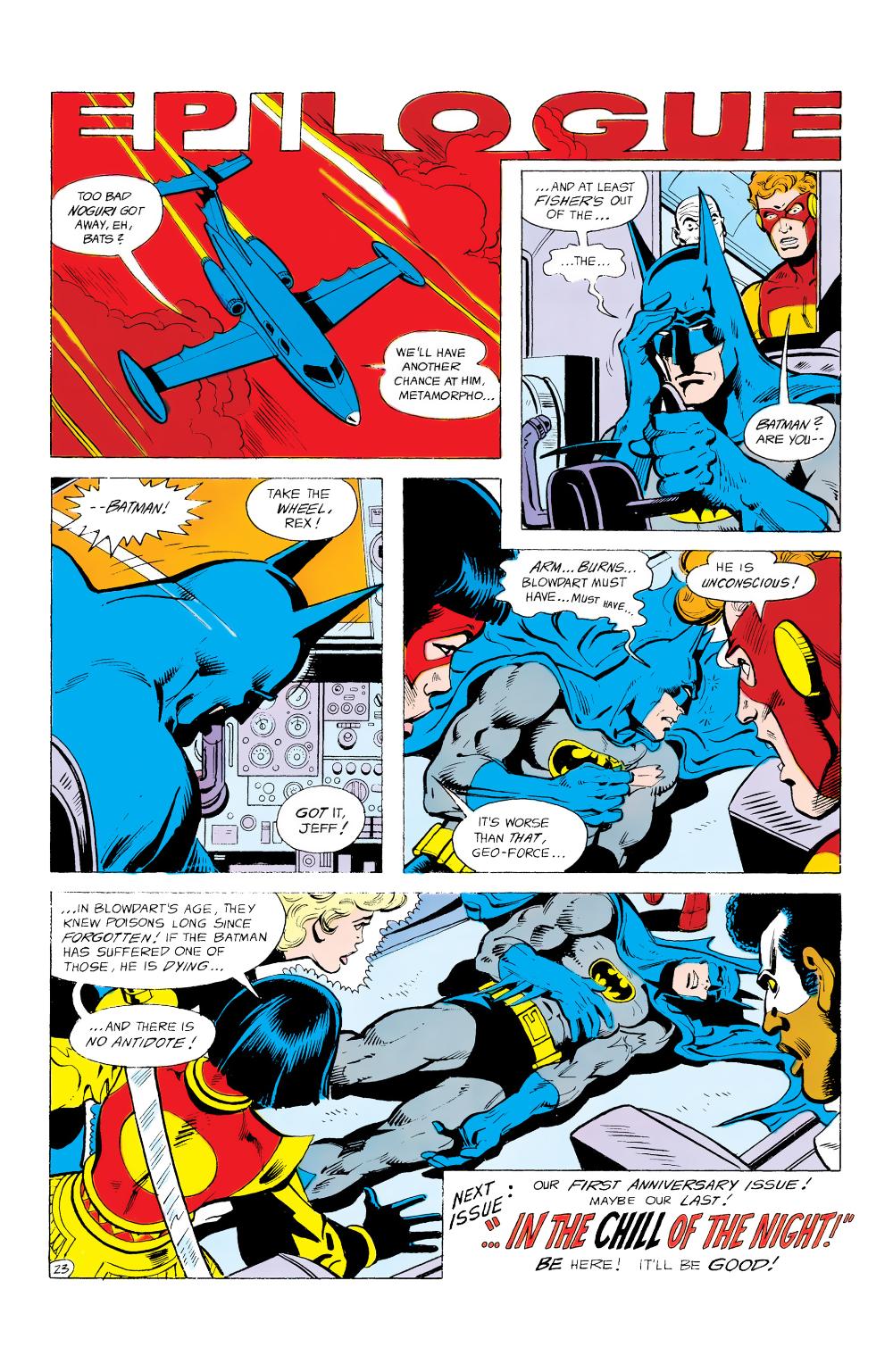 Batman And The Outsiders 1983 Issue 12 Read Batman And The Outsiders 1983 Issue 12 Comic Online In High Quality Comics Comics Online Comic Books