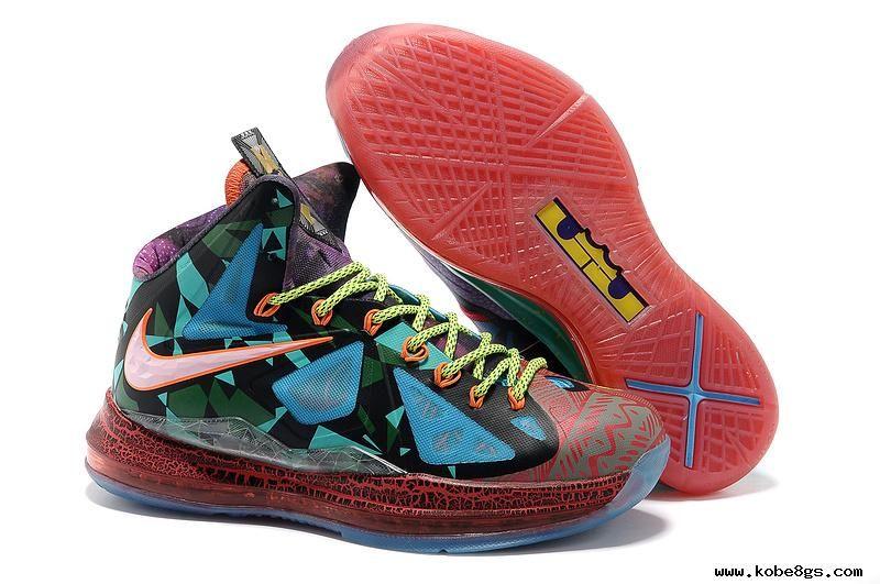 Nike LeBron X What The MVP LeBron James Shoes