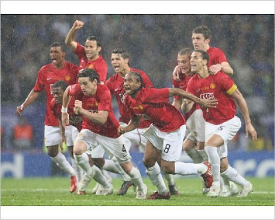 Manchester United V Chelsea Uefa Champions League Final 2008 Moscow Russia May 21 Photograp Manchester United Champions League Final Uefa Champions League