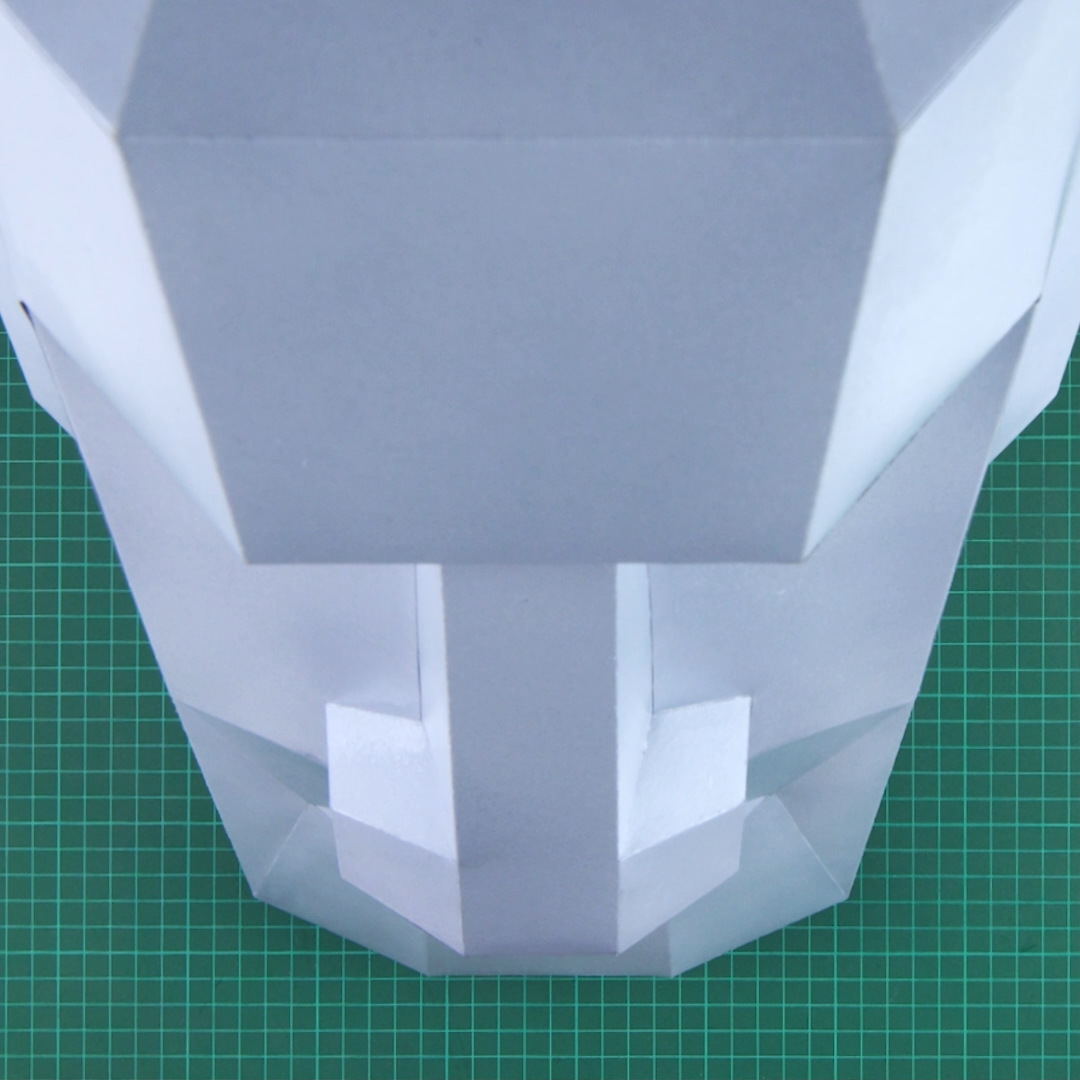MOAI MASK | DIY VIDEO | Carnival Mask, Paper Mask, Low Poly, Polygon, Papercraft, Template, PDF