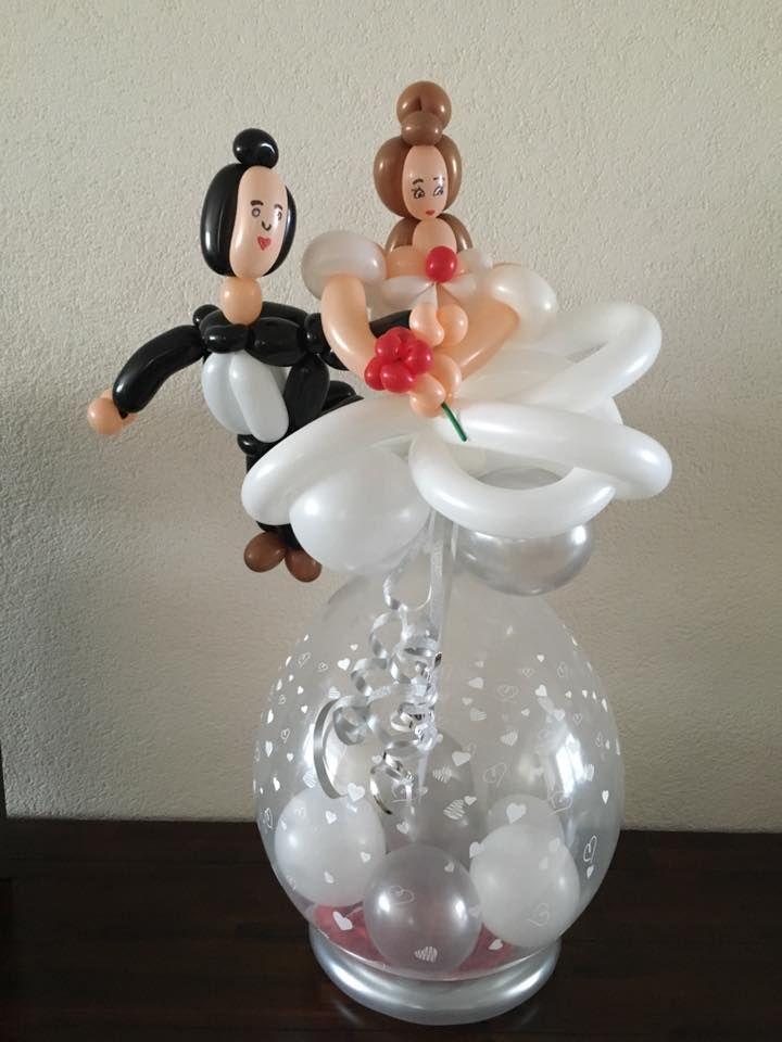 Pin van Marjo Saes op specialballoons | Bruiloft