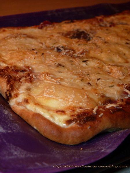 pizza montagnarde quiches pizza pains cake pizza garniture pizza et pizza maison. Black Bedroom Furniture Sets. Home Design Ideas