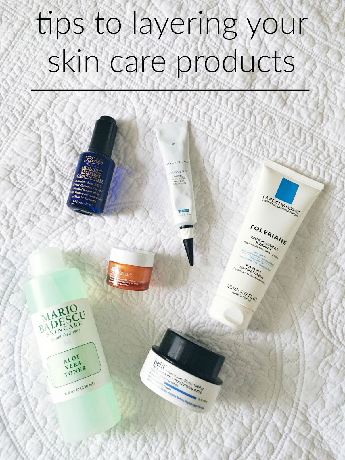 Watch How to Layer Your Skin Care video