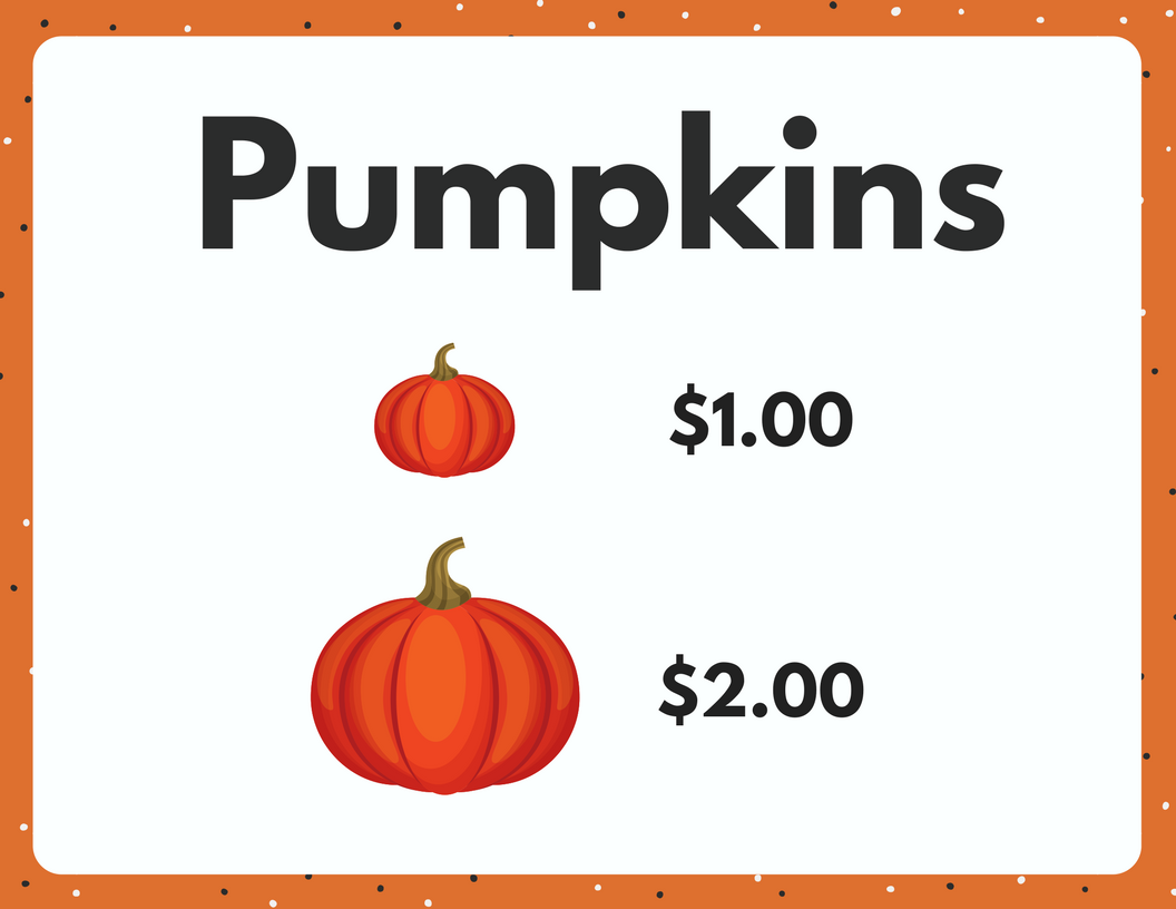 Pretend Play Pumpkin Patch With Free Printables