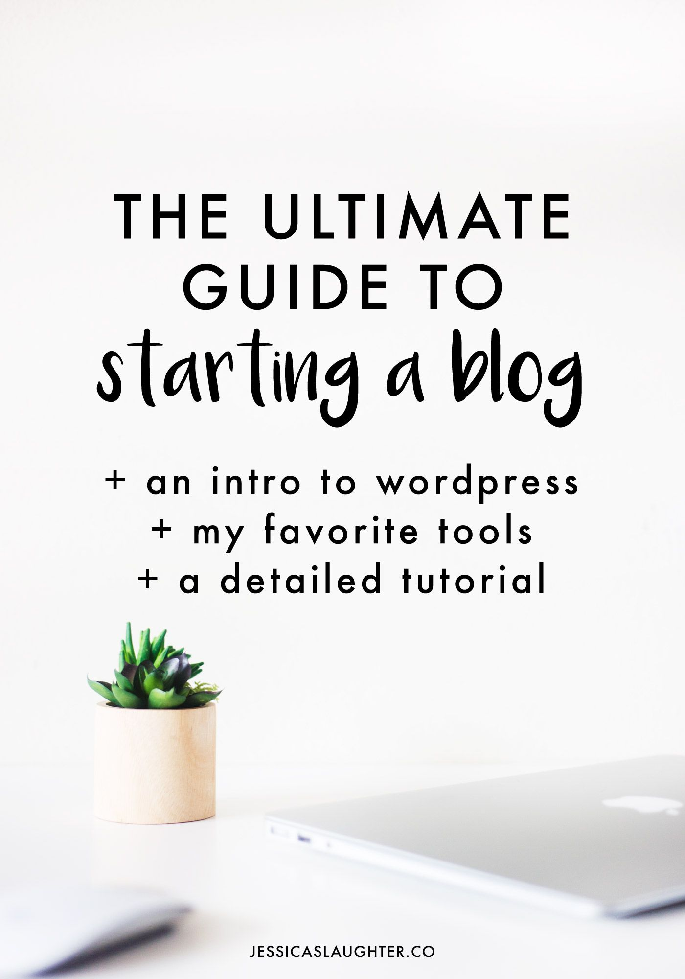 I'll take you through the whole process including setting up hosting, installing WordPress, finding the best plugins, and taking your blog to the next level!