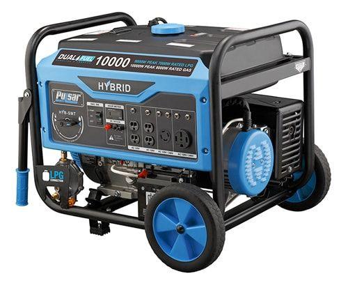 Dual Fuel 10kw Pulsar Generator Is A Beauty Dual Fuel Generator Propane Generator Portable Generator