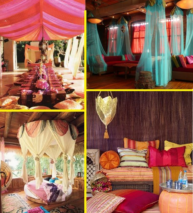 Indian Style Living Bohemian Decor