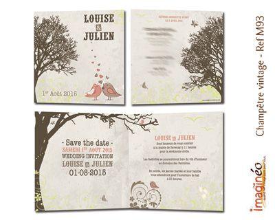 Faire Part Mariage Champetre Anis Et Blanc Imagineo Faire Part Mariage Invitation Mariage Vintage Faire Part Mariage Champetre