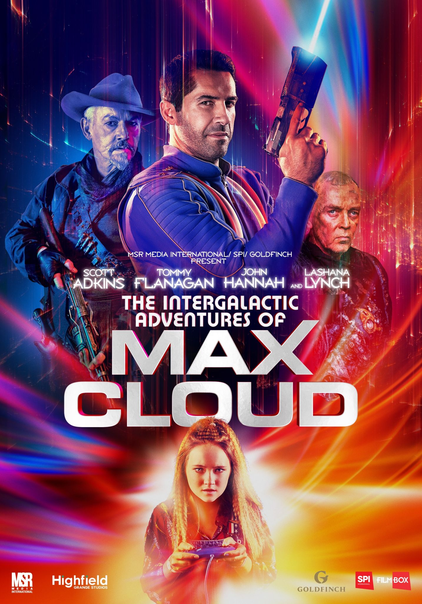 The Intergalactic Adventures Of Max Cloud Fresh Images Drop For The Upcoming Scott Adkins Sci Fi Action Com In 2020 The Daughter Movie Action Movie Stars Scott Adkins