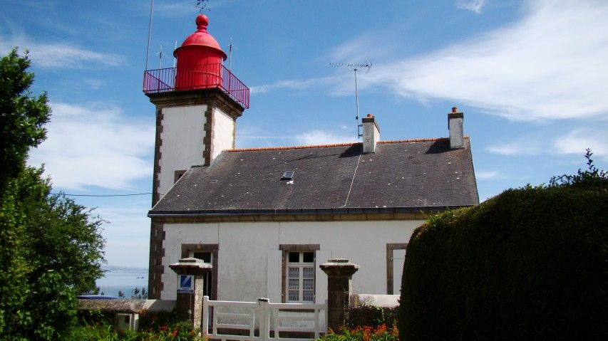 Lighthouses of Iroise. Phare de Morgat. Presqu'Ile de Crozon