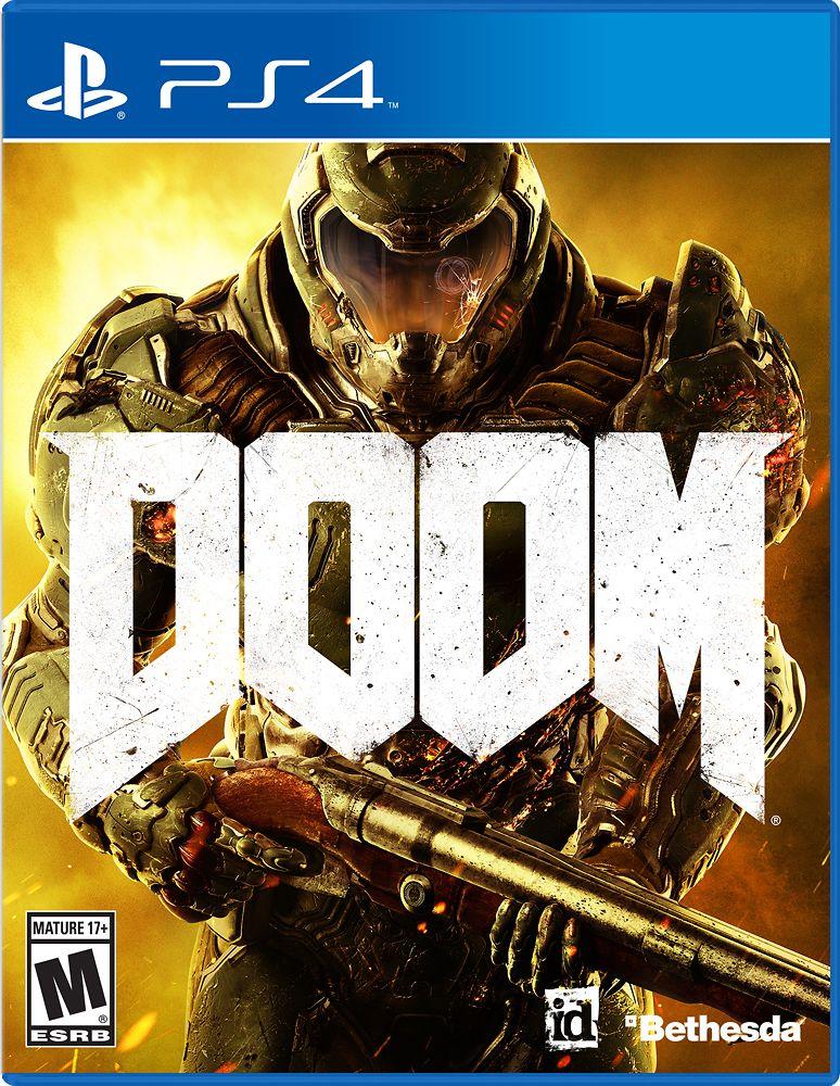Doom Standard Edition Playstation 4 17022 Best Buy Doom Xbox One Doom Ps4 Doom Pc