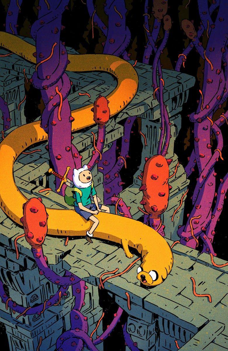 Finn and Jake Aventure Time fanart manga anime GG