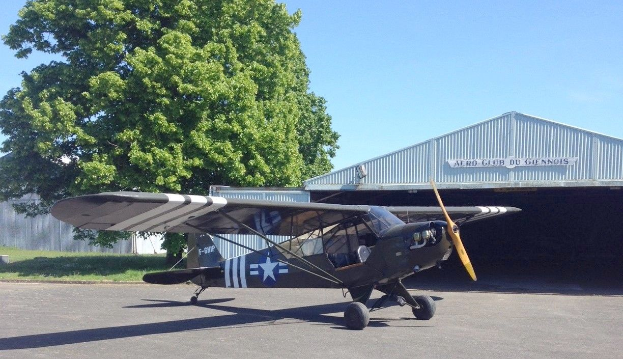Registration: F-GHIP Year Built: 1942 Aircraft type: Piper J-3 / L-4 ...