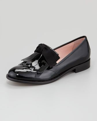 789f77731f6 Patent Leather Oxford with Tassel by RED Valentino at Neiman Marcus ...