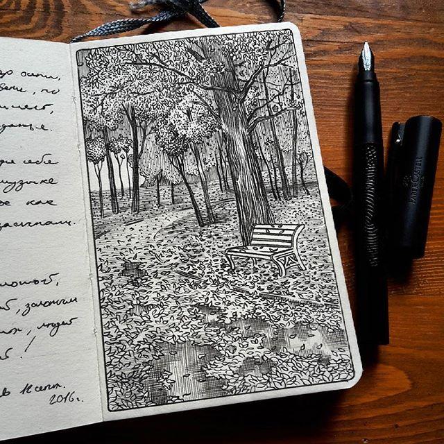 Hahnemuhle bosquejo diario
