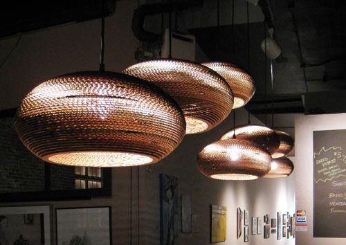 Grey Pants Lampen : Hanglampen discus graypants kartonnen lampen verlichting