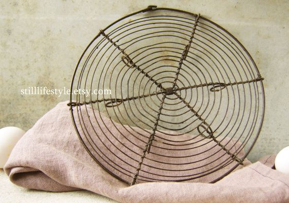 Vintage French Wire Small Cooling Rack Pastry By Stilllifestyle