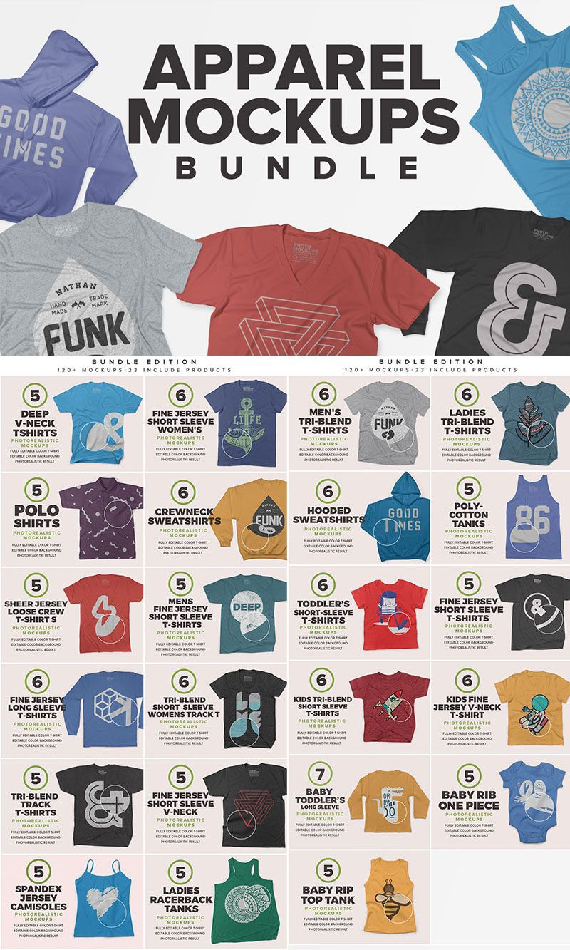 Download 120 Apparel T Shirt Mockups Bundle Clothing Mockup Shirt Mockup Triblend Shirts