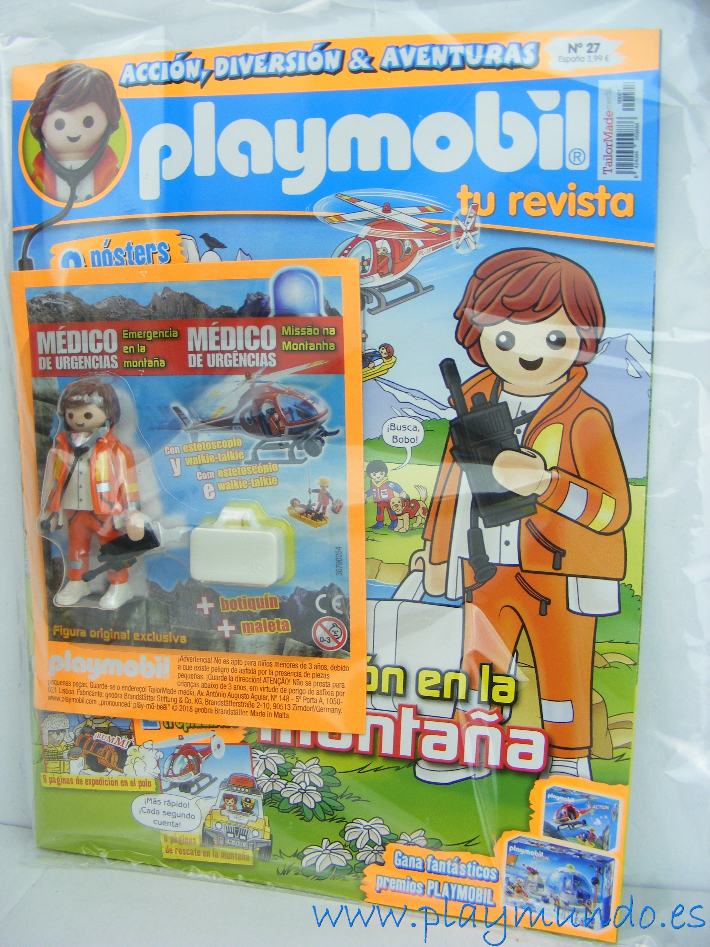 Playmobil revista playmobil n 27 medico de emergencias playmobil revistas y advertencia - Playmobil piscina ballena ...