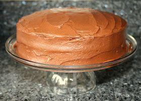 Katherine's Kitchen: Serving Up {Cake}: Mom's Chocolate Cake