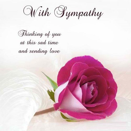 Inspirational Sympathy Quotes For Loss With Images
