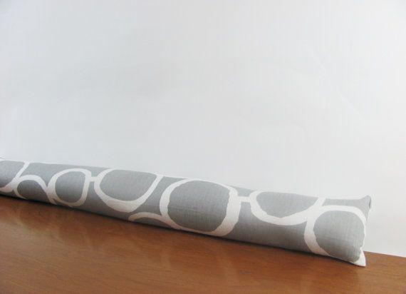 Gray Door Stopper.Grey Geometric Door Snake. Gray Freehand Draft Stopper. Grey Door draft blocker   Door draft Grey doors and Draft stopper & Gray Door Stopper.Grey Geometric Door Snake. Gray Freehand Draft ...