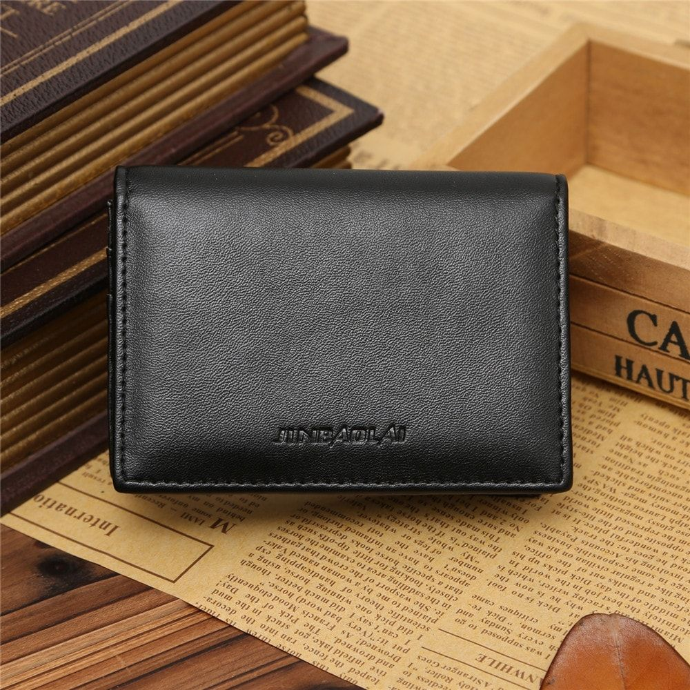 Mens Leather Business Card Holder Free Download Leather Wallet Mens Leather Business Cards Wallet Fashion
