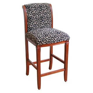 Leopard Animal Print Bar Stool Home Ideas Bar Stools