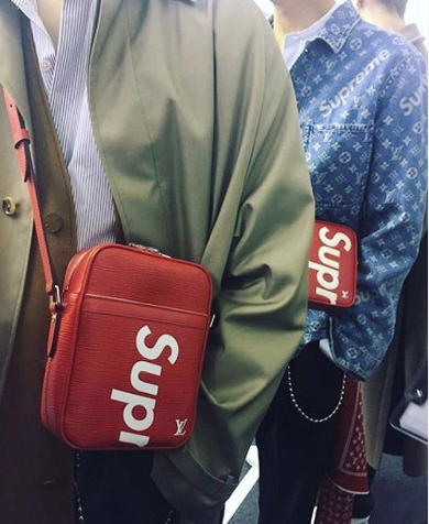 71e853738d7b Louis Vuitton X Supreme Fall 2017 Menswear Collection Supreme Instagram  www.theAlienChild.com