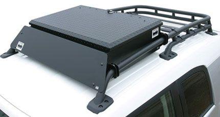 Fj Cruiser Parts Accessories Fj Cruiser Roof Rack Aluminum Lockbox By Tuffy Security Fj Cruiser Fj Cruiser Parts Toyota Fj Cruiser