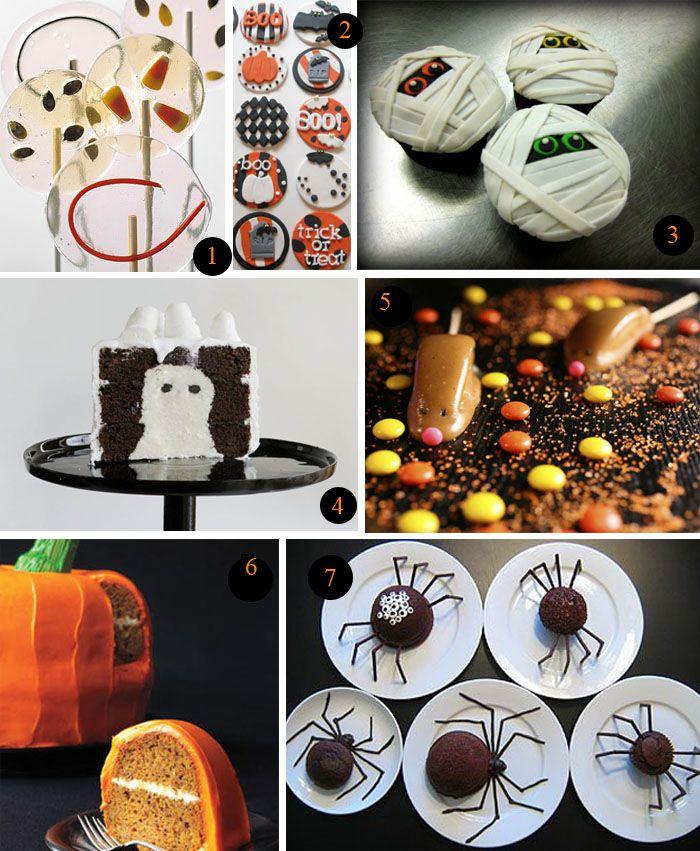Halloweekend Countdown Spooky Desserts Halloween desserts