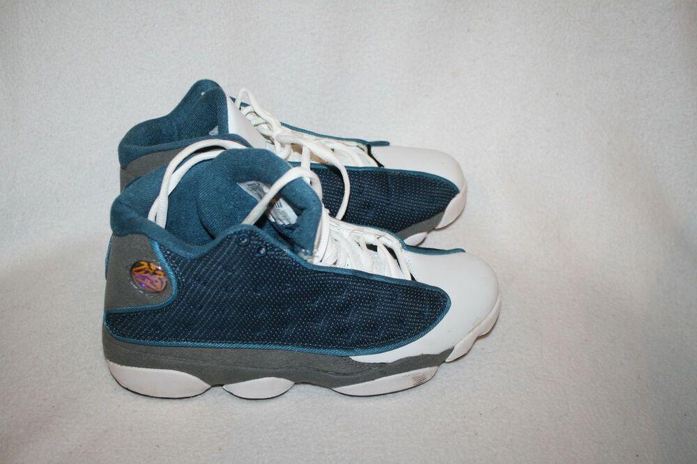 differently a681d 38296 Men Nike Air Jordan 13 XIII French BLue Flint Gray Blue ...
