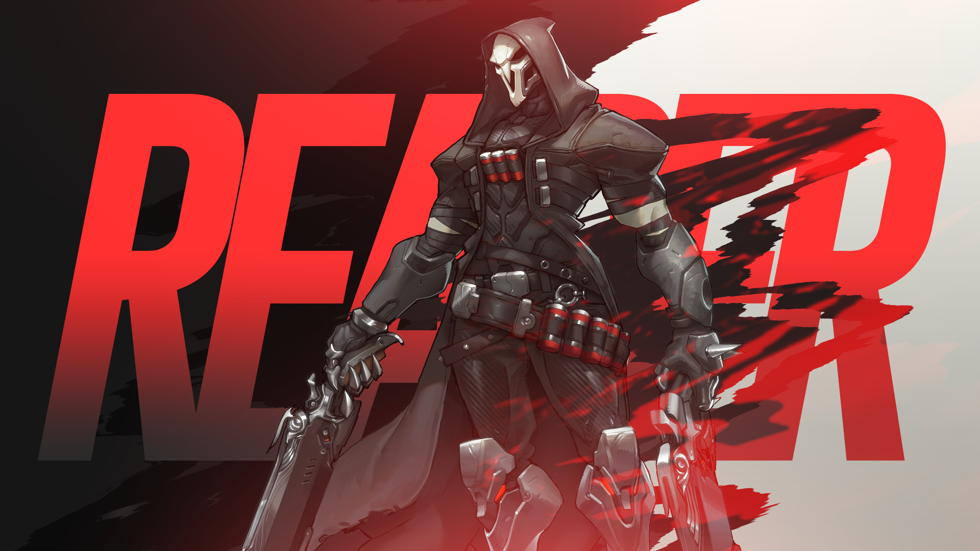 Overwatch - Reaper Wallpaper by MikoyaNx deviantart com on