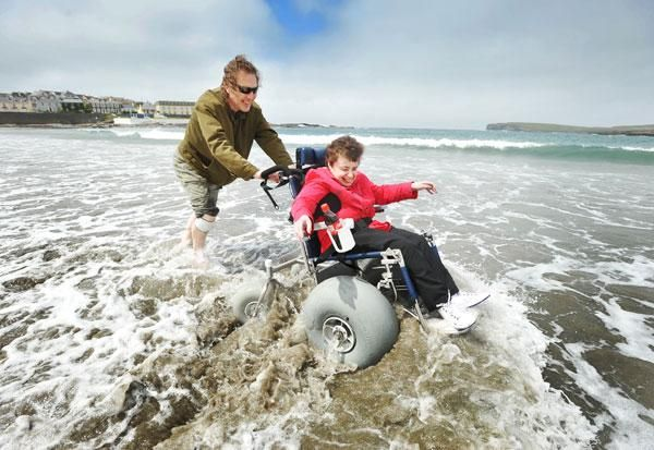 Sand Wheelchair Beach Access For Users