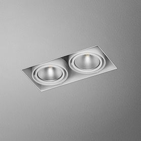 Squares 50x2 Led 230v Trimless Recessed Led Down Lights Led Ceiling Lights Led