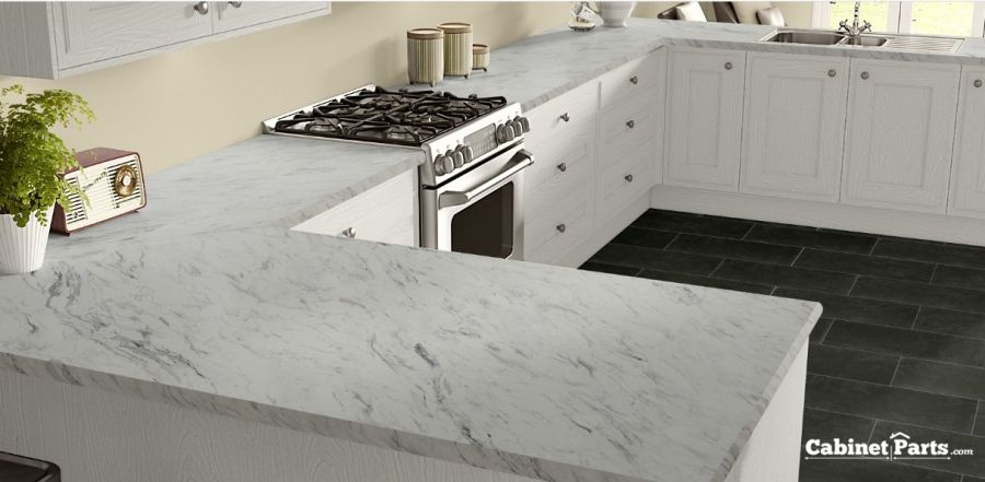 Wilsonart Calcutta Marble Textured Gloss Finish 5 Ft X 12 Ft